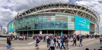 Стадион Wembley, Лондон стоковые фотографии rf