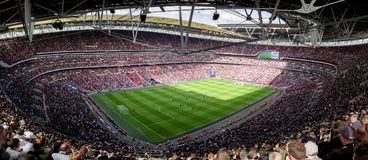 Стадион Wembley, Лондон стоковые фото