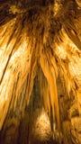 Сталактиты пещеры Стоковые Изображения