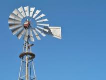 стальная ветрянка Стоковые Изображения