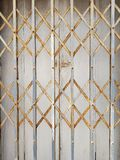 Стальная дверь простирания Стоковое Фото