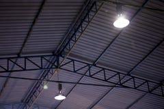 Стальная структура крыши стоковая фотография rf