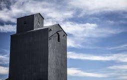 Стальной лифт зерна Стоковые Изображения