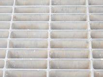 Стальной сток решетки Стоковое Изображение RF