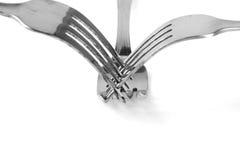 Стальные вилки Стоковая Фотография RF