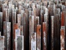 Стальные пруты Стоковое Фото