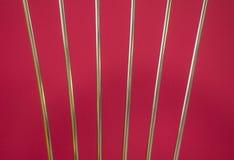 Стальные серебряные трубы Стоковые Фото