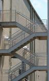 стальные шаги Стоковая Фотография