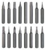 16 стальных магнитных вставок для промышленного multi scr функции Стоковое Изображение