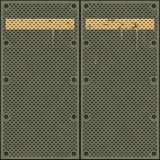 сталь дверей промышленная иллюстрация штока