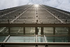сталь дела здания Стоковая Фотография