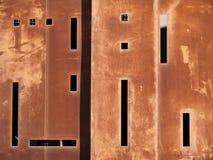 сталь здания внешняя ржавая Стоковые Фотографии RF