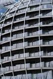 сталь здания округленная офисом бортовая Стоковые Фото