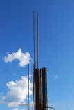 сталь здания armature Стоковая Фотография