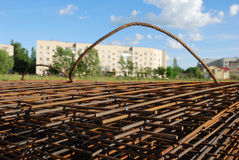 сталь здания armature Стоковое Фото