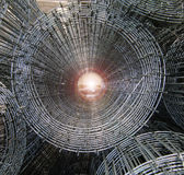 сталь индустрии решетки Стоковое Фото
