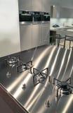 сталь кухни Стоковые Фотографии RF