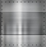 сталь металла предпосылки Стоковое фото RF