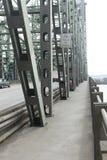 сталь моста лучей Стоковое фото RF