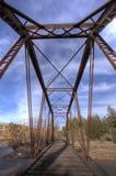 сталь моста старая Стоковое фото RF