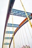 сталь моста Стоковые Фото