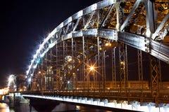 сталь моста Стоковая Фотография