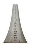 сталь правителя Стоковые Фотографии RF
