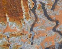 сталь предпосылки ржавая Стоковая Фотография RF