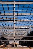 сталь рамки здания самомоднейшая Стоковое Изображение RF