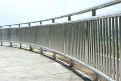 сталь рельса предохранителя Стоковые Фотографии RF