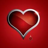 сталь сердца иллюстрация штока
