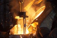сталь стана стоковое изображение