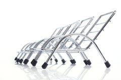 сталь стула Стоковая Фотография
