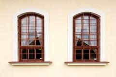сталь штанг 2 окна Стоковые Изображения RF