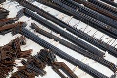 сталь штанг Стоковое Фото