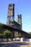 сталь portland парка моста Стоковые Фото