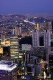 Стамбул на ноче Стоковые Фото
