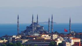 Стамбул, голубая мечеть Стоковые Фотографии RF