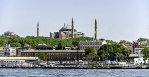 Стамбул и Hagia Sophia Стоковое фото RF