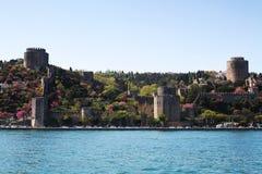 Стамбул, крепость Rumeli Стоковая Фотография