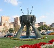 Стамбул, памятник к миру и культуре. стоковое изображение