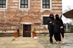 Стамбул, Турция - 22-ое ноября: Взгляд комплекса музея архитектуры Hagia Sophia в Istambul, Турции Стоковые Фото