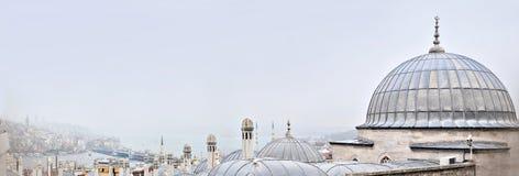 Стамбул, Турция - 23-ье ноября 2014: Ландшафт Стамбула Россия, Khanty-Mansiysk Стоковое фото RF