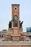 Стамбул, Турция - 23-ье ноября 2014: Памятник Стоковая Фотография