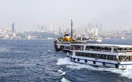 Стамбул, Bosphorus Стоковое фото RF