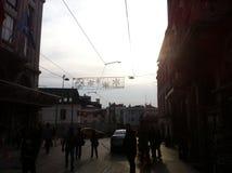 Стамбул Istiklal апрель 2014 Стоковые Изображения