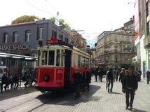 Стамбул Istiklal апрель 2014 Стоковые Фото