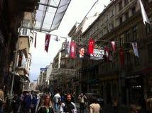 Стамбул Istiklal апрель 2014 Стоковое Фото