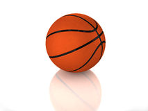 стандарт баскетбола 3d лоснистый Стоковое Изображение