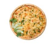 становит пицца холодного огурца итальянская вкусная стоковые фото